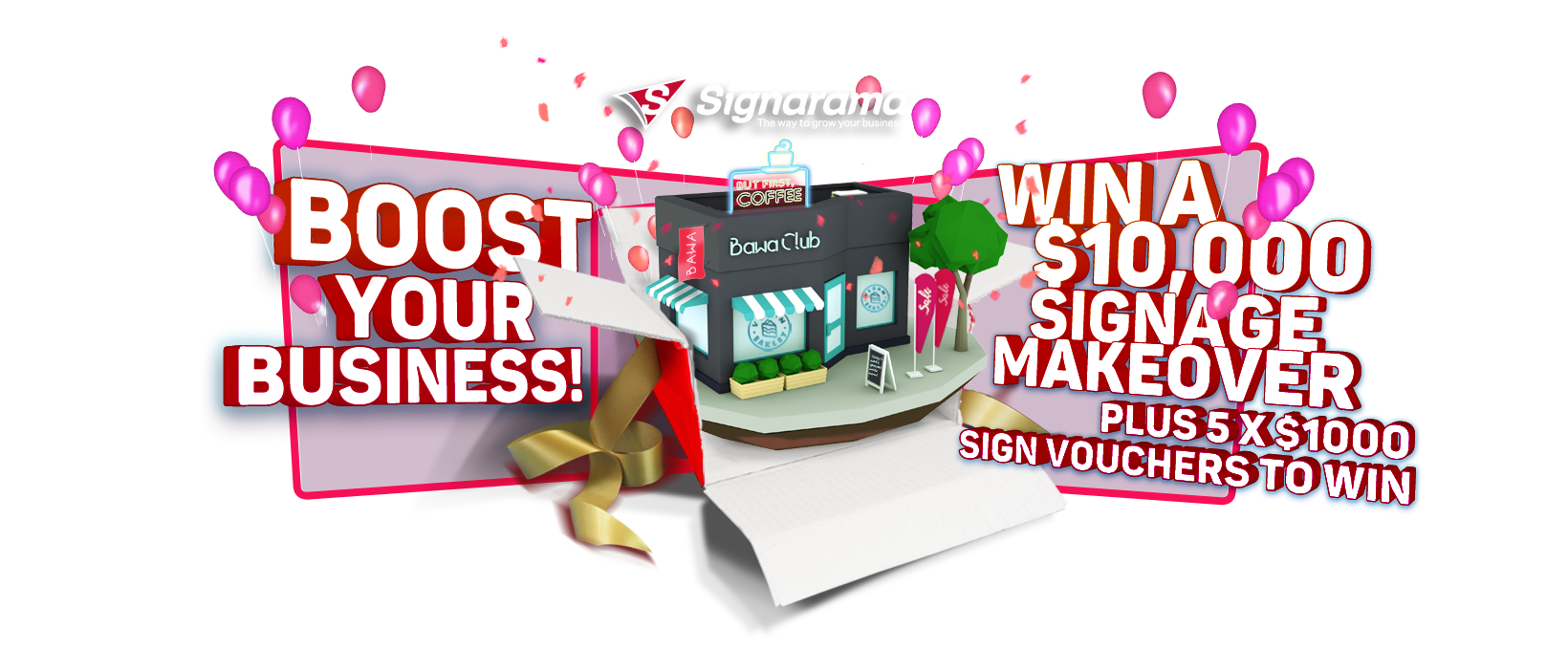 Signarama - win a business makeover