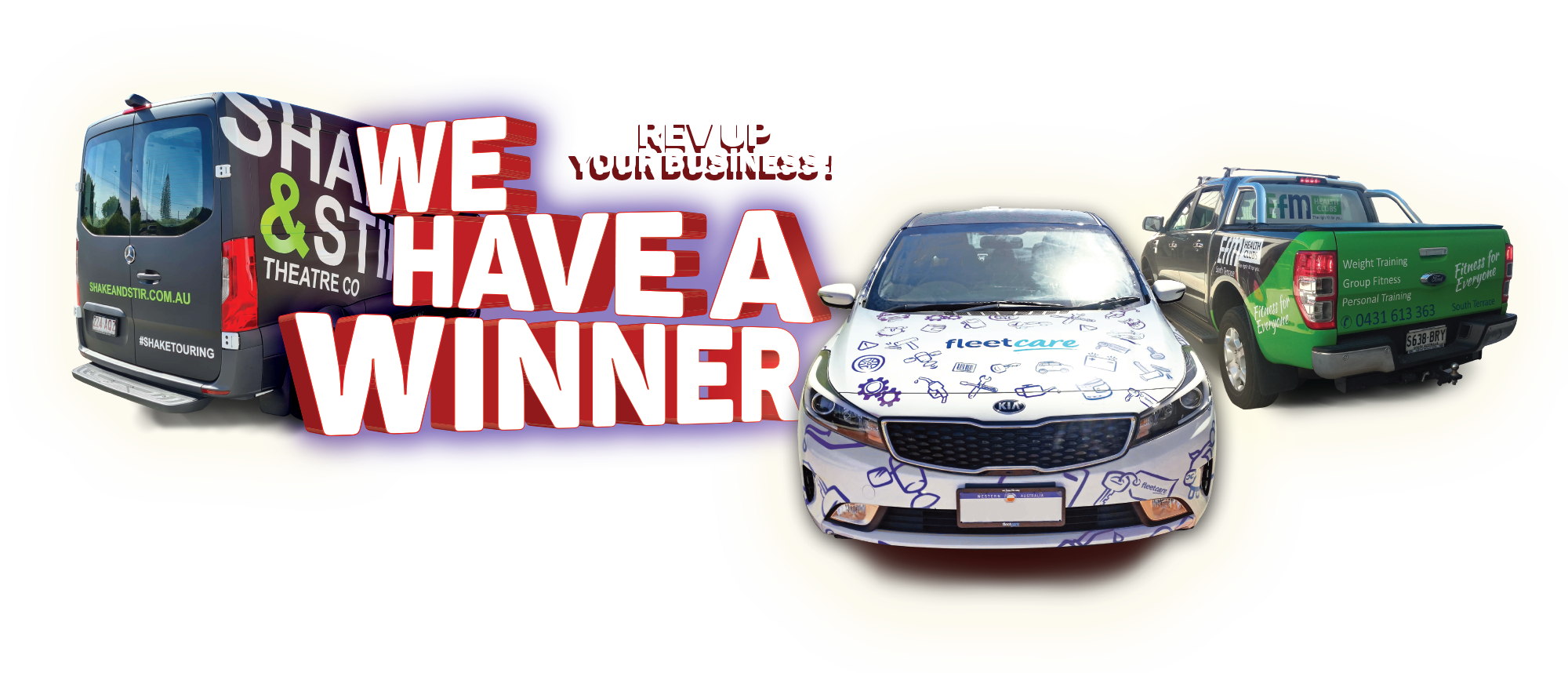 Signarama - win a vehicle wrap